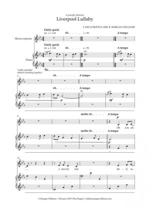 arr. Liverpool Lullaby